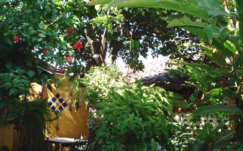 Dona Conchi Courtyard