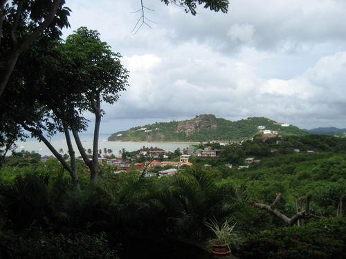 View from Pelican Eyes in San Juan del Sur