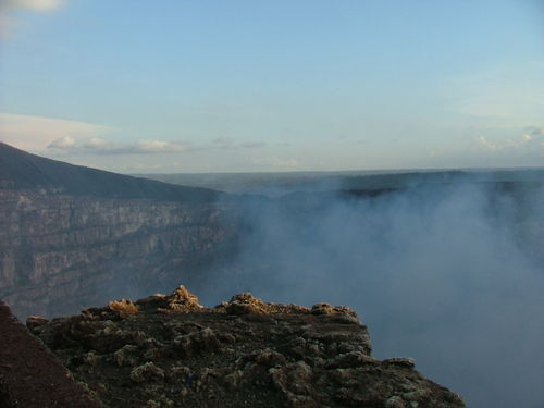 Santo Domingo Crater Volcan Masaya Nicaragua